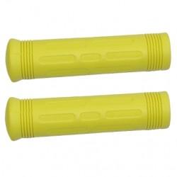 Puño goma  BTT 130 mm color amarillo,  juego