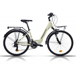 """Bicicleta Megamo 28"""" trekking modelo TACAMA 21 velocidades"""