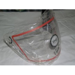 Pantalla casco NZI modelo Star Vision transparente, larga