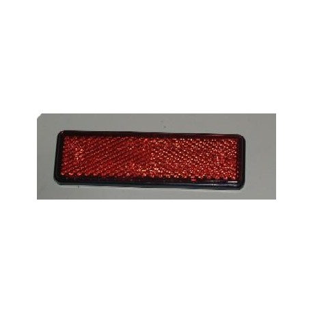 Reflectante trasero ITV rectangular adhesivo