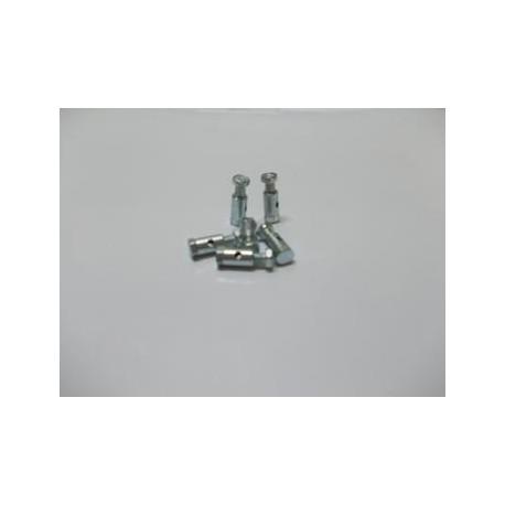 Sujetacable freno 6 mm. doble tuerca