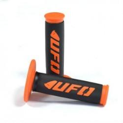 Puños UFO cross / enduro Challenger naranja