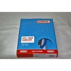 Kit cable freno +  funda color azul