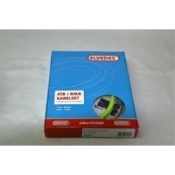 Kit cable cambio +  funda color verde