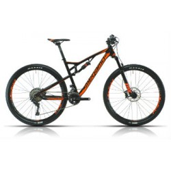 "Bicicleta Megamo XC05 MTB rueda 27.5"" Doble suspension Shimano Deore"