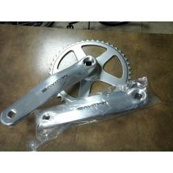 Bielas c/plato + izquierda aluminio 42zx170