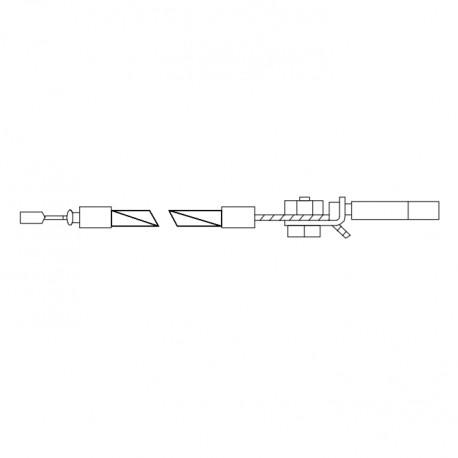 Conjunto cable Sturmey Trigger cable negro 1570x1420 mm