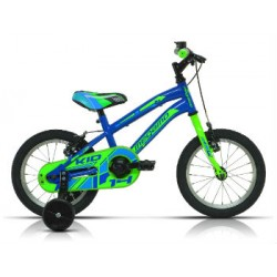 "Bicicleta Megamo 14"" KID boy azul/verde"