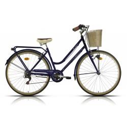 """Bicicleta Megamo modelo TRIVIA 28"""" paseo 6 velocidades"""
