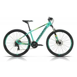 "Bicicleta  Megamo 29"" NATURAL 60 21v frenos disco hidraulicos Turquesa"