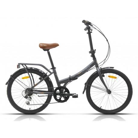 """Bicicleta Megamo plegable 24"""" modelo Maxi  Folding 6v."""