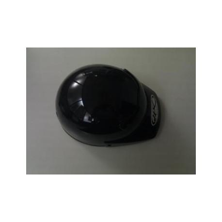 Casco ciclomotor marca HX modelo ECO negro