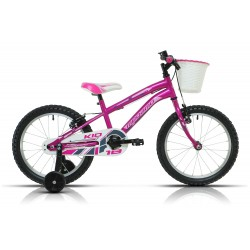 "Bicicleta Megamo 18"" modelo Kid girl color rosa"