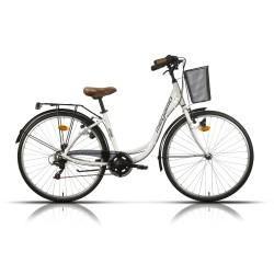 """Bicicleta Megamo 28"""" paseo modelo Tamariu 6v. aluminio"""