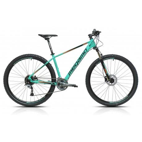 "Bicicleta  Megamo 29"" NATURAL30 11v  freno disco hidraulico Turquesa"