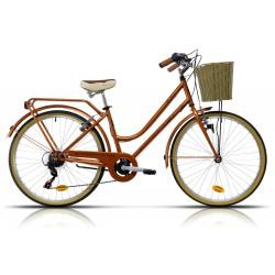 """Bicicleta Megamo 26"""" paseo modelo TRIVIA 6 velocidades"""