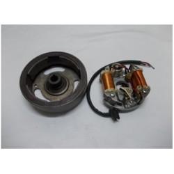 Volante magnetico Motoplat Mobilete platinos 12v40w