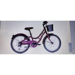 "Bicicleta Gitane paseo 20"" 6 velocidades color Purple"