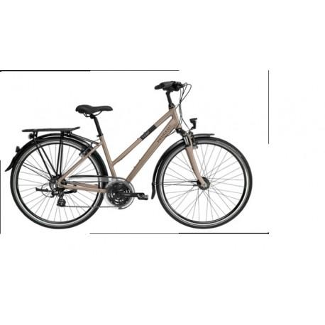 "Bicicleta Peugeot trekking 28"" 24v cuadro aluminio"