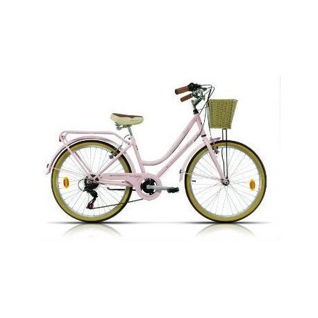 "Bicicleta Megamo paseo 24""  modelo TRIVIA  6 v."