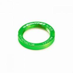 Arandela cierre piñon fijo color verde