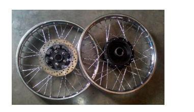 Reparacion ruedas moto